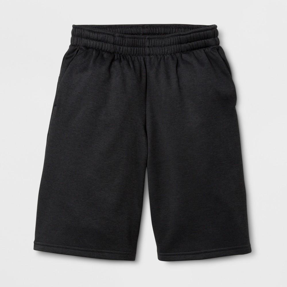 Boys Tech Fleece Shorts - C9 Champion - Black Heather XS
