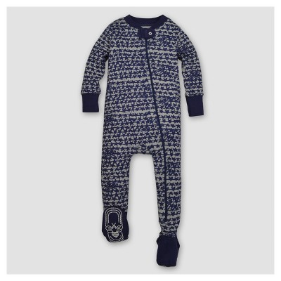 Burt's Bees Baby® Boys' Organic Clustered Star Sleeper - Blue 0-3M