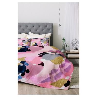 Pink Laura Fedorowicz Cloud Comforter Set (Queen)3pc - Deny Designs®