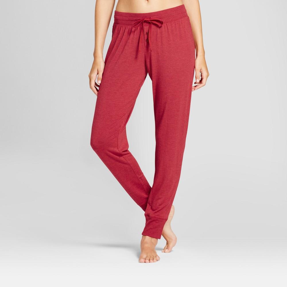 Womens Pajama Pants Red Velvet M