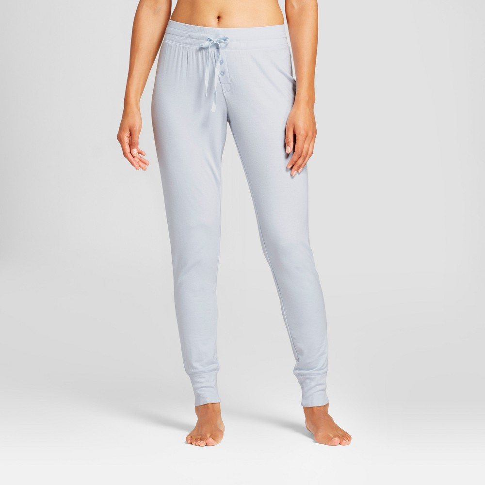 Womens Pajama Pants Light Blue M