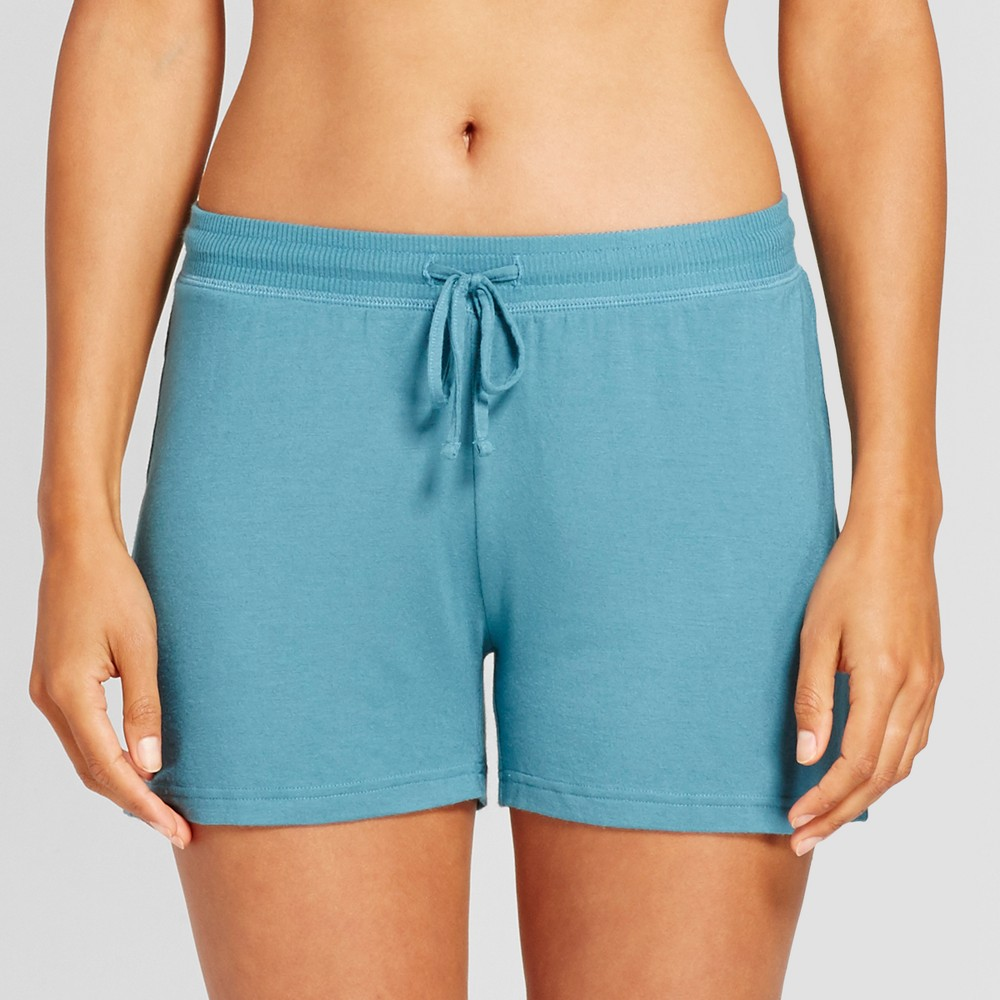Womens Pajama Shorts Nokomis Blue XS