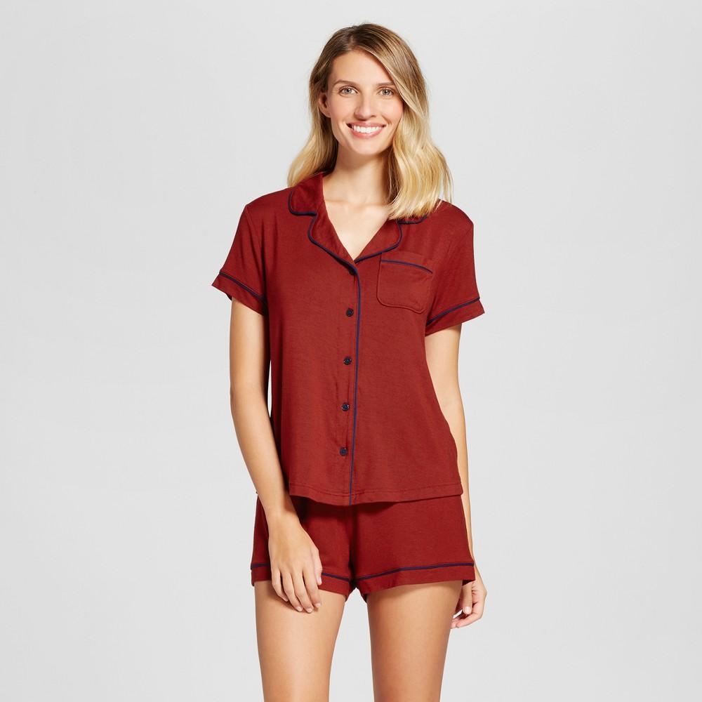 Womens Pajama Set Salsa XS, Red