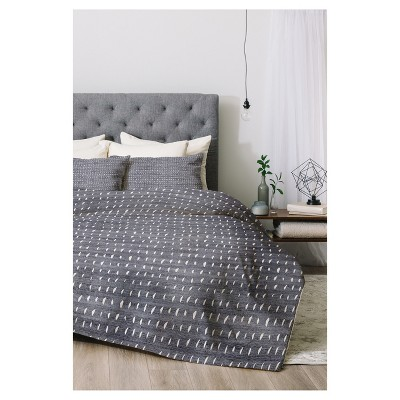 Holli Zollinger Rain Light Comforter Set (Queen)3pc - Deny Designs