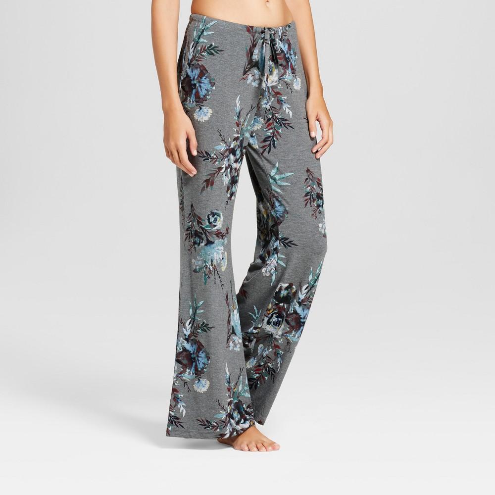 Womens Pajama Pants Gray L
