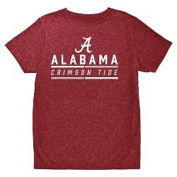 NCAA Boys' Hail Mary Bi-Blend Crew Neck T-Shirt Alabama Crimson Tide