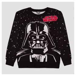 Boys' Star Wars Darth Vader Sweater - Black
