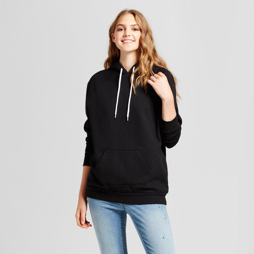 Womens Oversized Hoodie - Mossimo Supply Co. Black Xxl