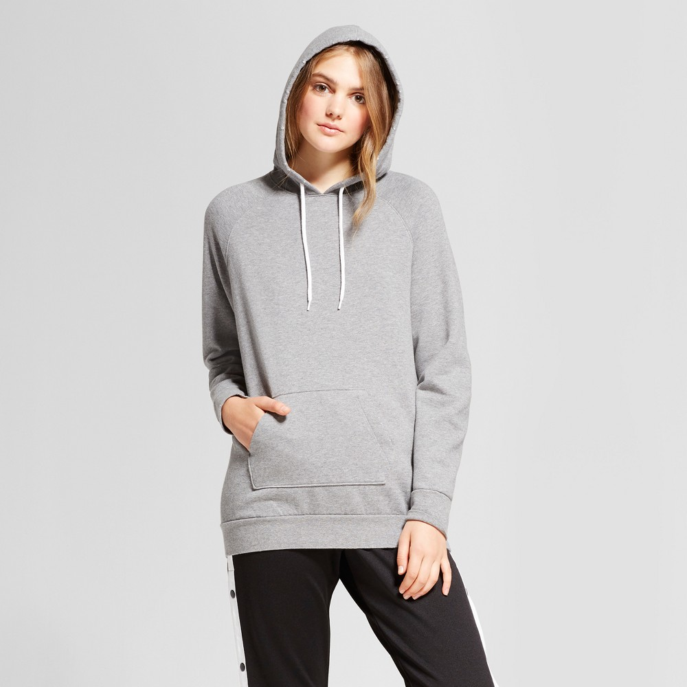 Womens Oversized Hoodie - Mossimo Supply Co. Heather Gray L