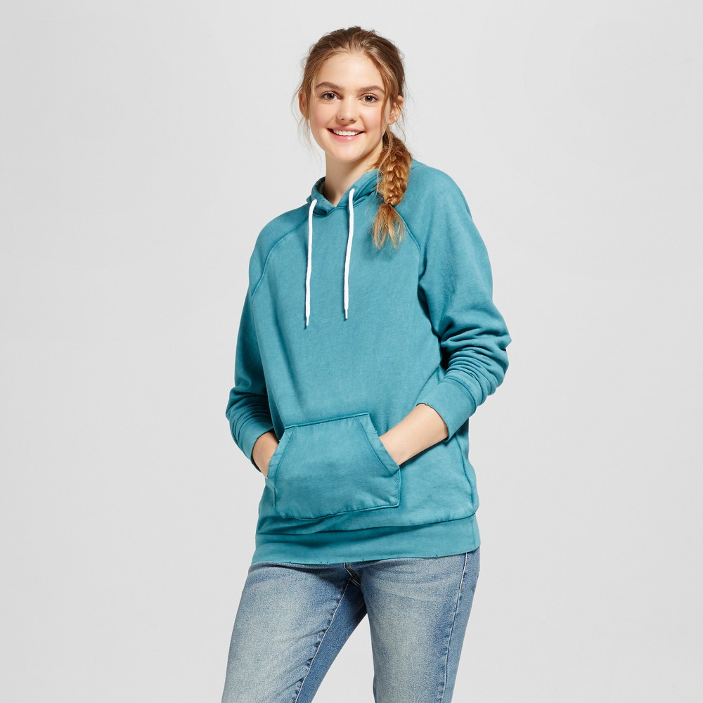 Womens Oversized Hoodie - Mossimo Supply Co. Turquoise L