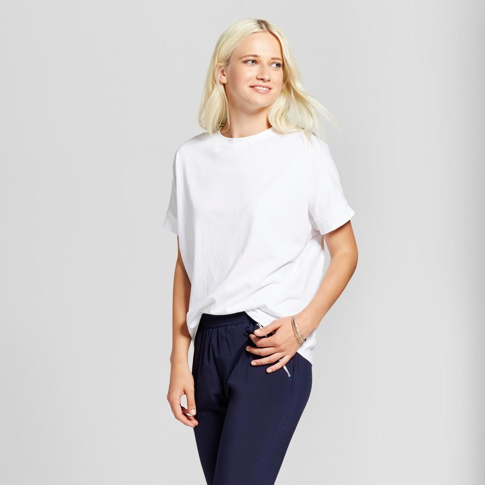 Womens Dolman Sleeve T-Shirt - Mossimo White L