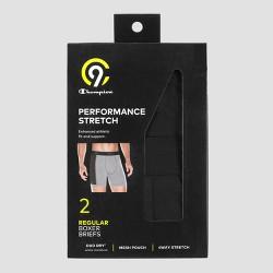 Men's Performance Stretch Boxer Briefs 2pk - C9 Champion®