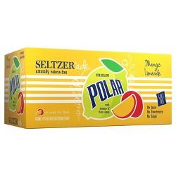 Polar Seltzerade Mango Lemonade - 8pk/12 fl oz Cans