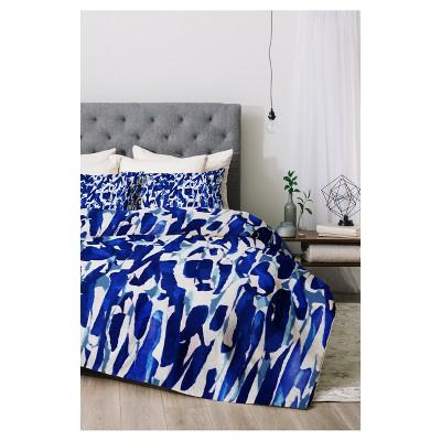 Blue Georgiana Paraschiv Comforter Set (King)3pc - Deny Designs®