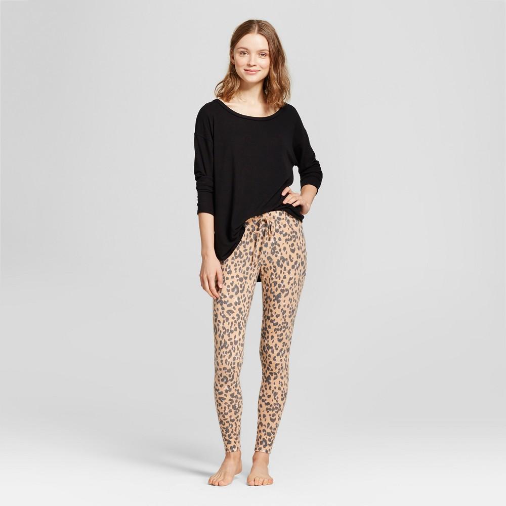 Womens Pajama Set - Xhilaration Honey Beige M, Orange