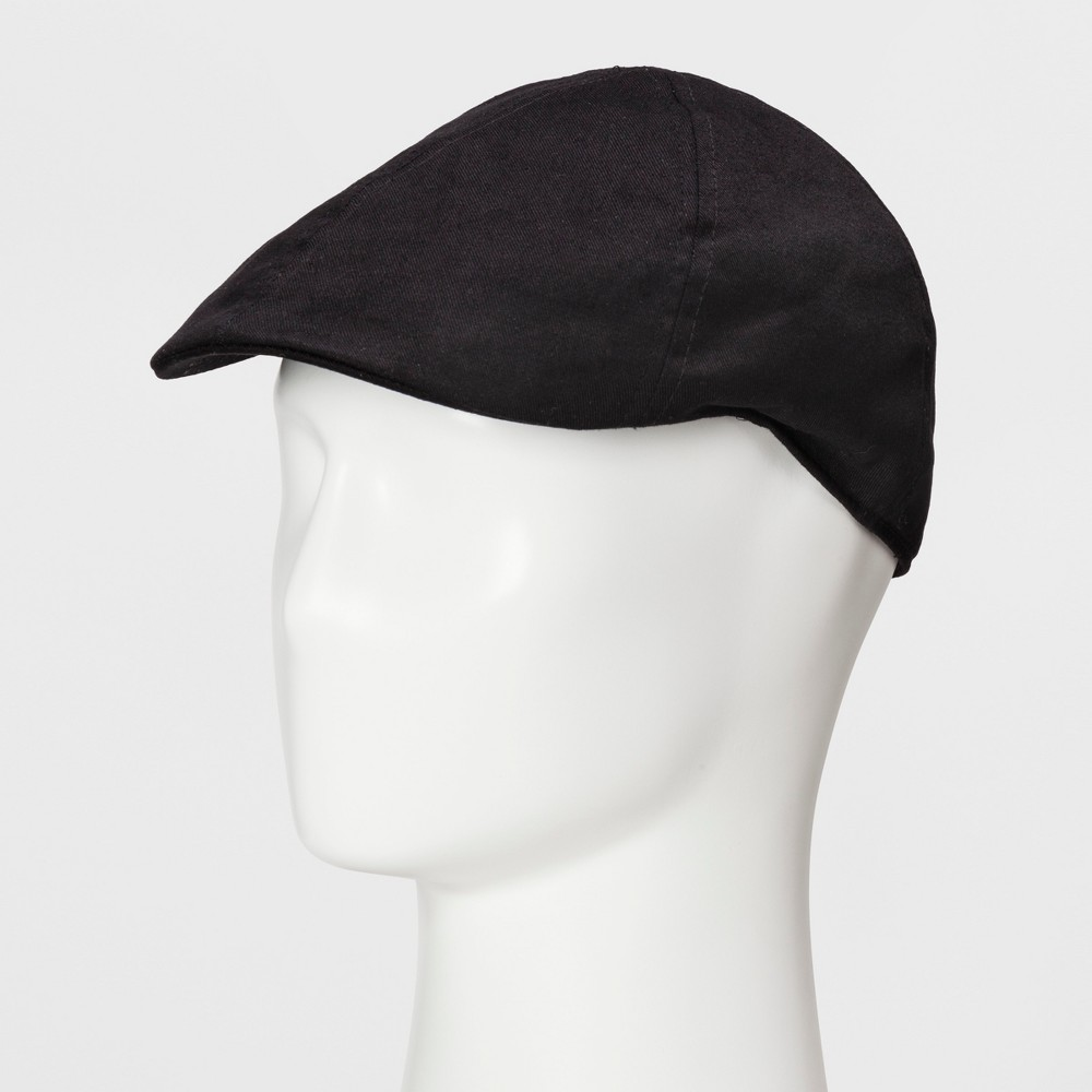 Mens Driver Cap - Goodfellow & Co Black L/XL, Size: Medium/Large