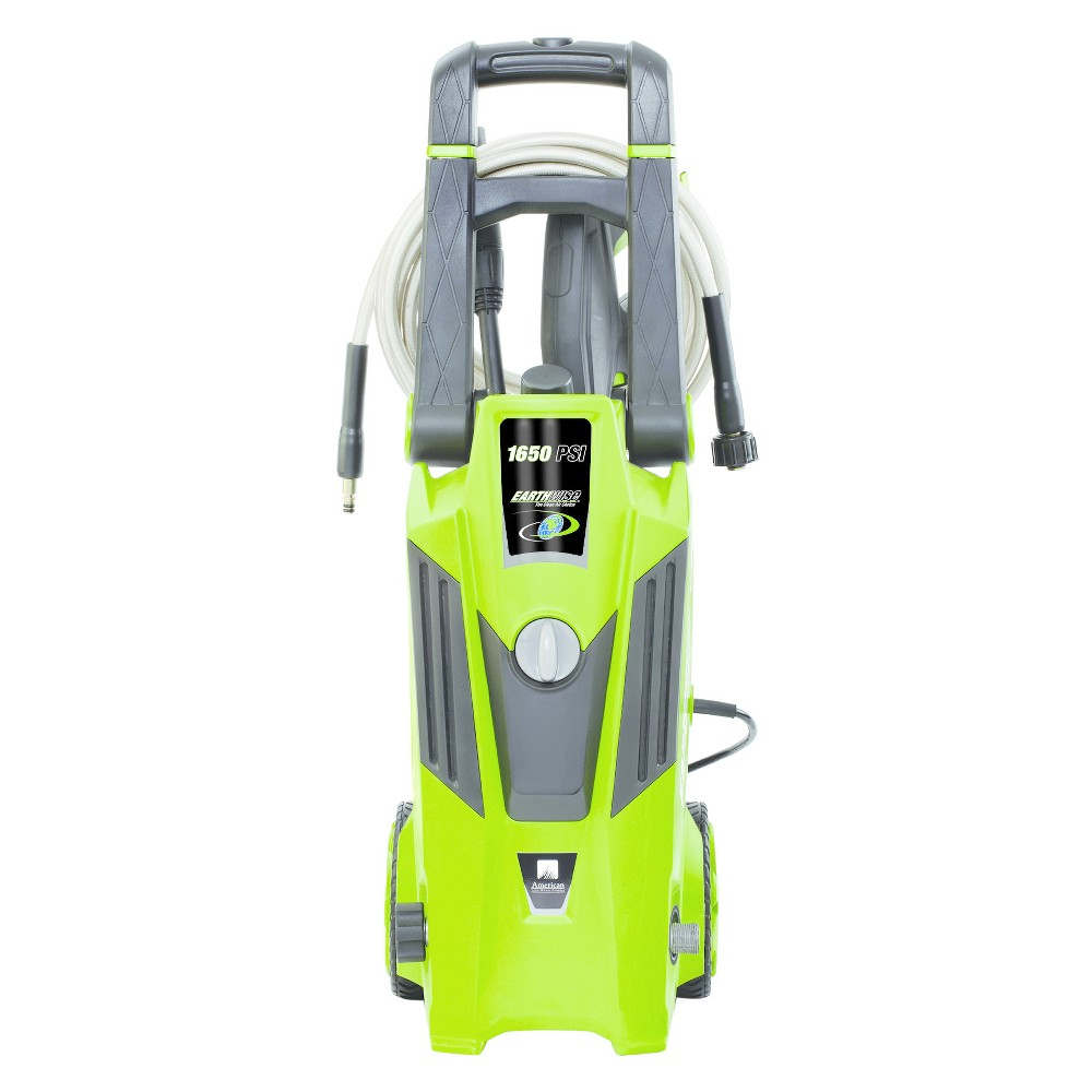 Image of 120 Volts, 60Hz, 12 Amp, 1440 Watts 1650 Psi Electric Pressure Washer - Green - Earthwise