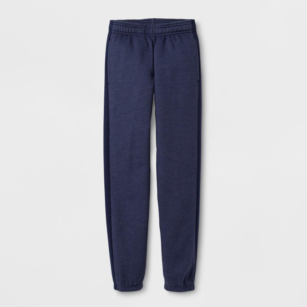 Boys' Cotton Fleece Banded Bottom - C9 Champion - Navy (Blue) L