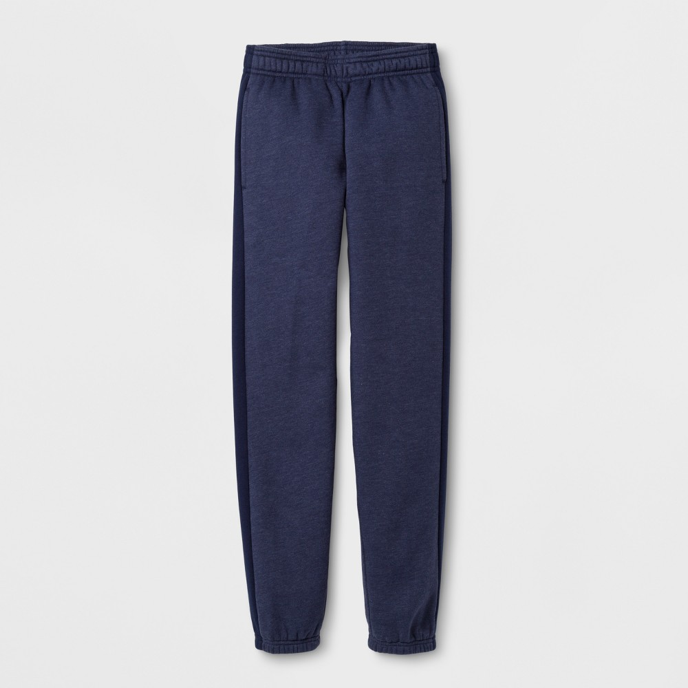Boys Cotton Fleece Banded Bottom - C9 Champion - Navy (Blue) L
