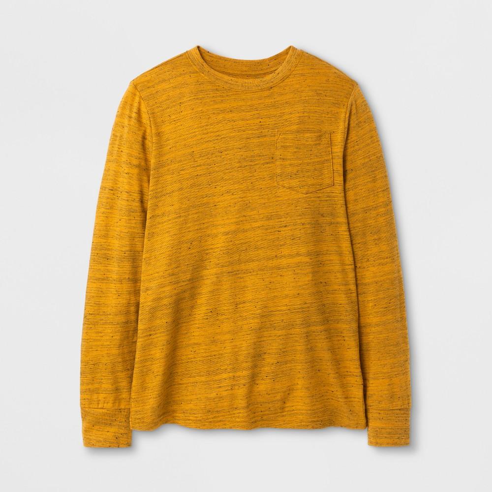 Boys Long Sleeve T-Shirt - Cat & Jack Yellow L