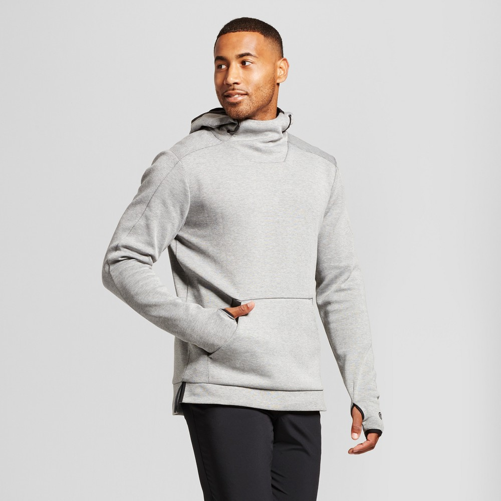 Men's Victory Fleece Pullover Hoodie - C9 Champion Stone Heather L