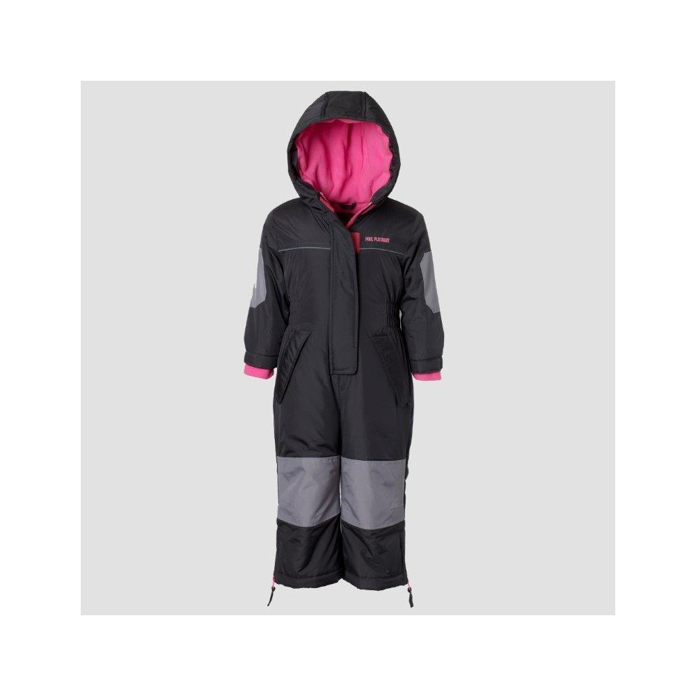 Snowsuits Wippette 18 M Charcoal, Infant Girls, Size: 12 Months, Gray