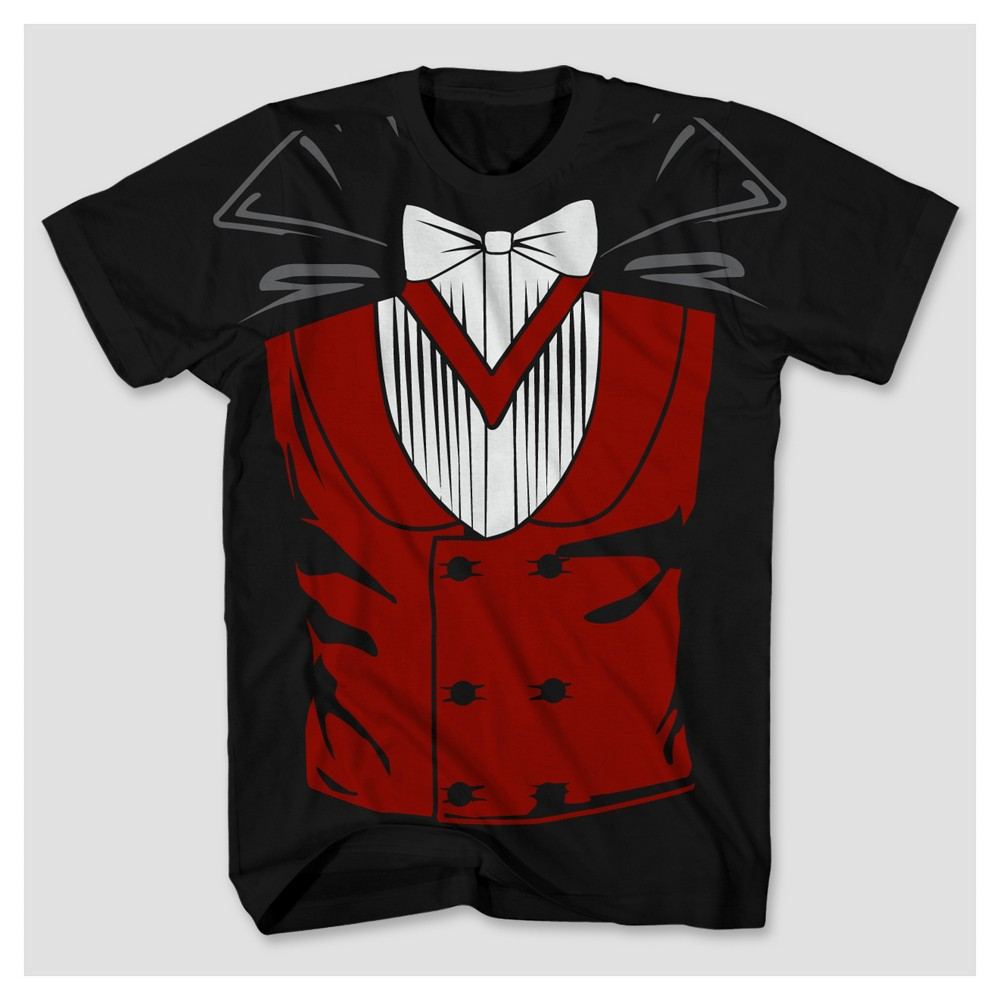 Mens Vampire Big & Tall Graphic T-Shirt - Black Xxlt, Size: 2XL - T