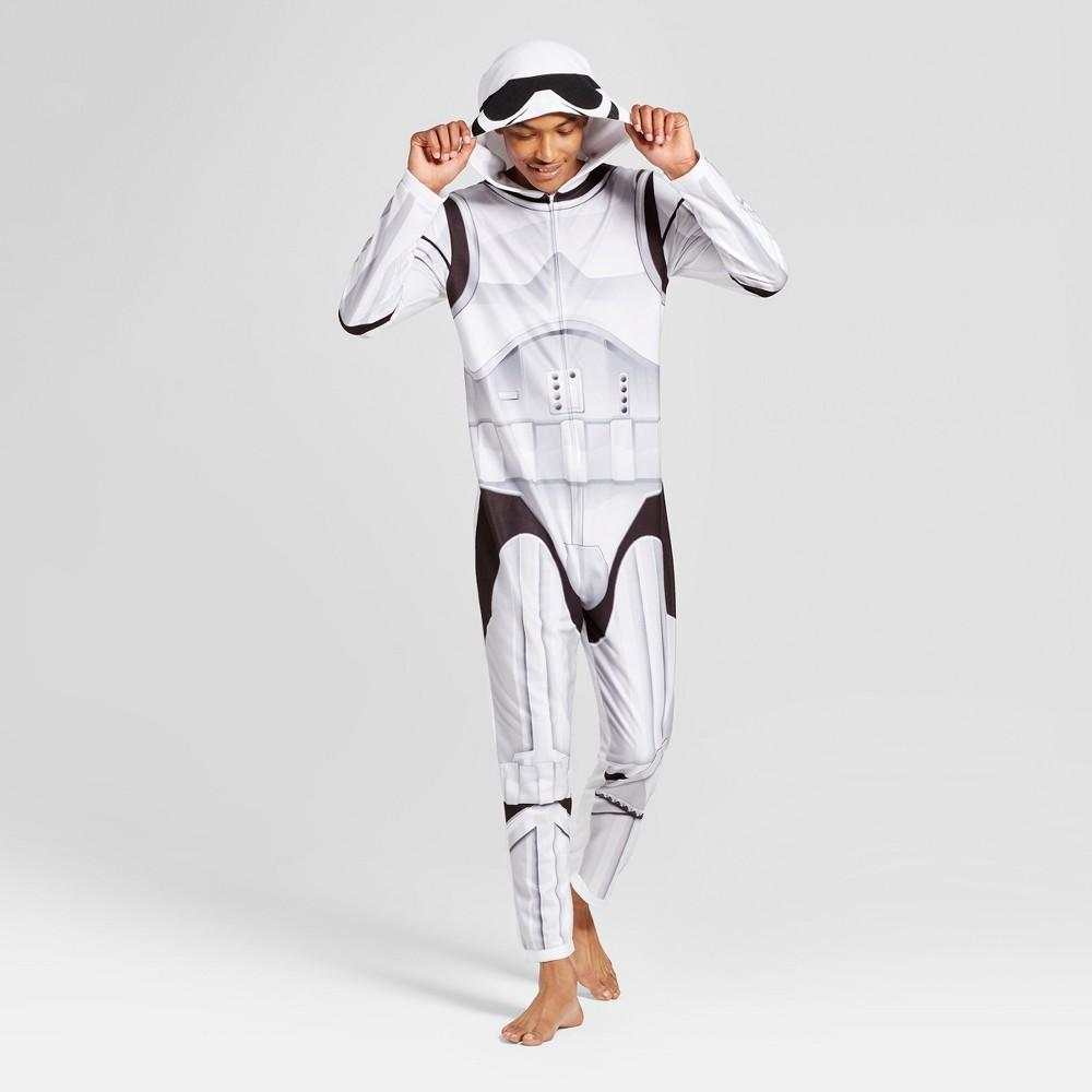 Mens Star Wars Stormtrooper Union Suit - White M