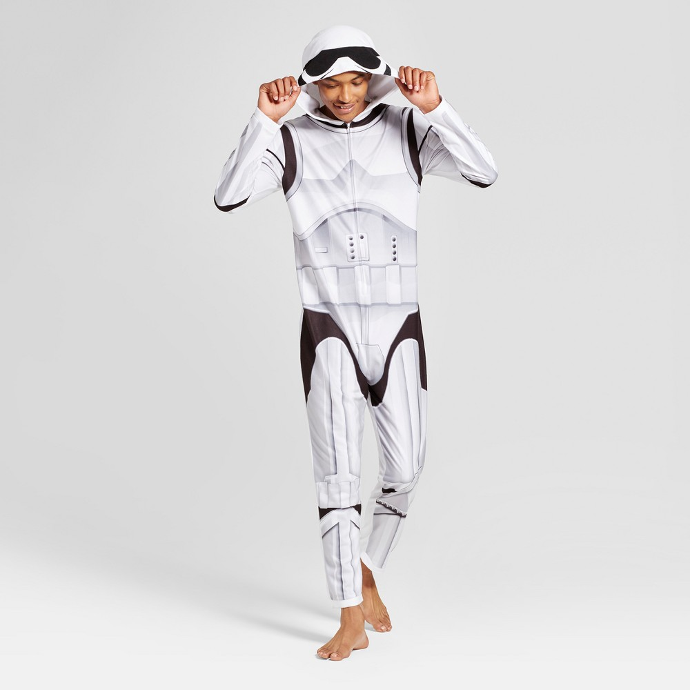 Mens Star Wars Stormtrooper Union Suit - White L