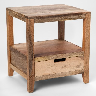 Wood Accent Table 1 Drawer   Threshold™
