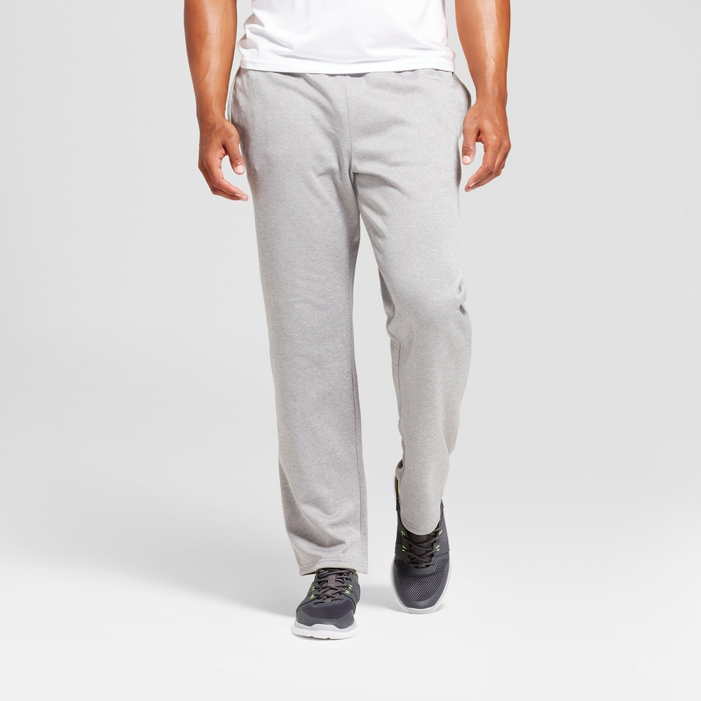 Mens Tech Fleece Pants - C9 Champion Nickel Gray Heather M