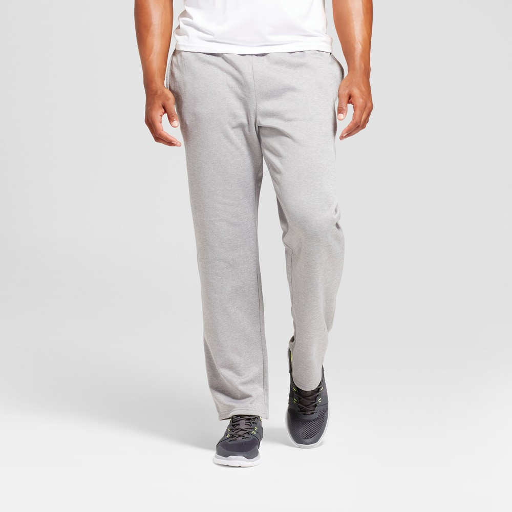 Mens Tech Fleece Pants - C9 Champion Nickel Gray Heather L