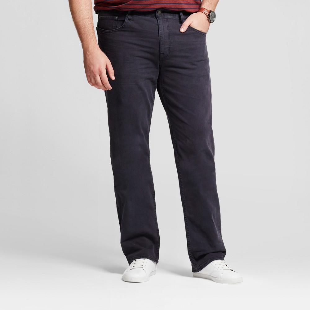 Mens Big & Tall Slim Straight Fit Jeans - Goodfellow & Co Slate Blue 56x32