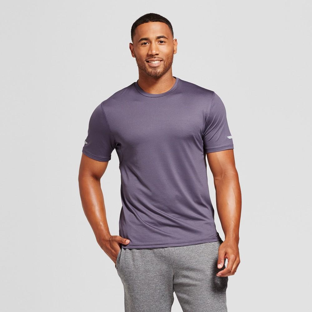 Mens Run T-Shirt - C9 Champion Dark Plum (Purple) XL