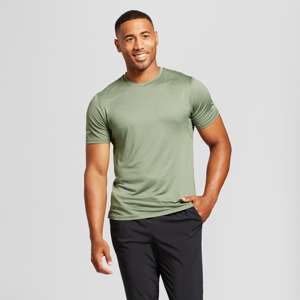 Men's Run T-Shirt - C9 Champion Olive (Green) L