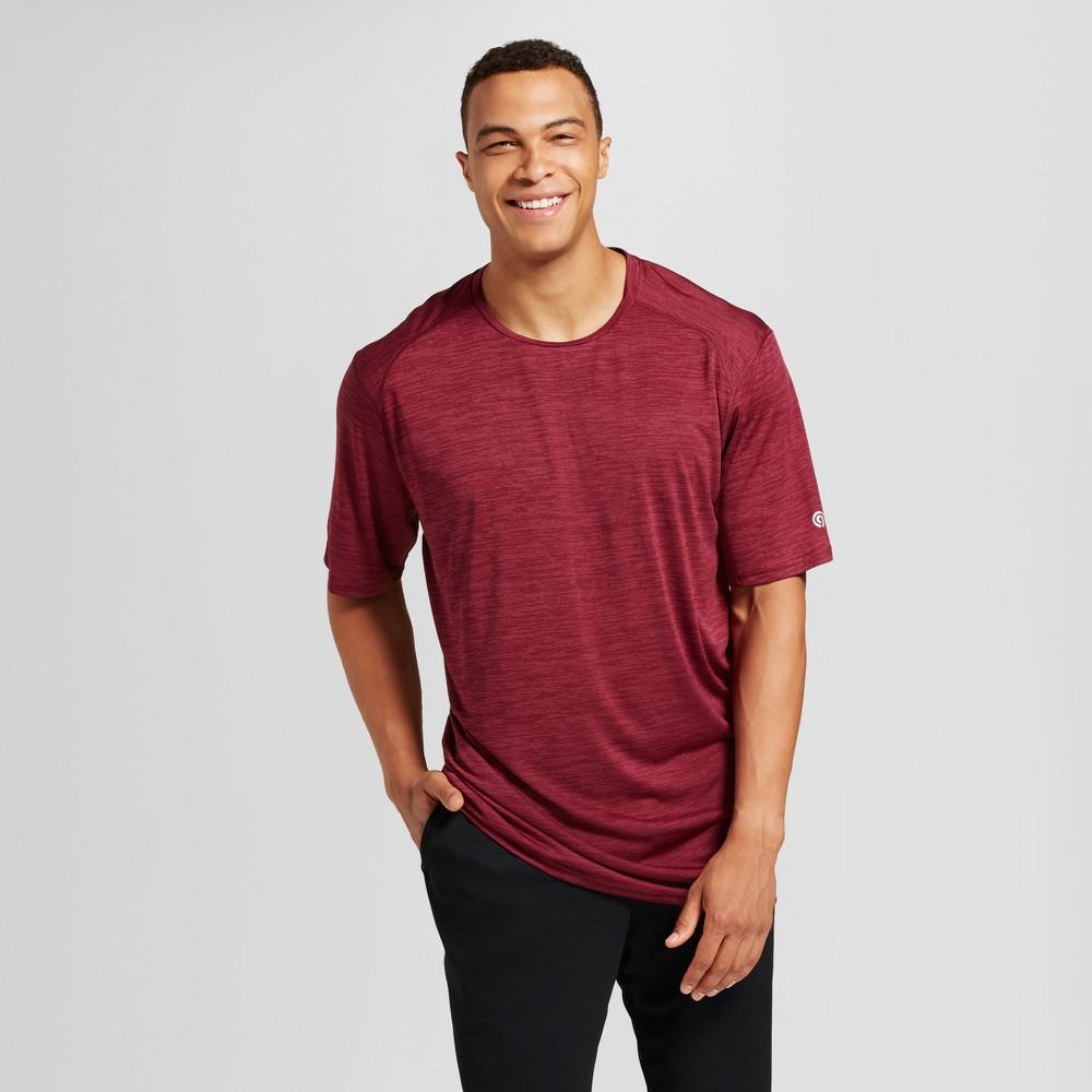 Mens Premium Tech T-Shirt - C9 Champion - Bordeaux Red Heather 3XB