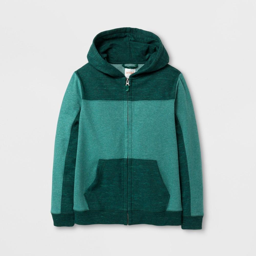 Boys Fleece Sweatshirt - Cat & Jack Green Xxl
