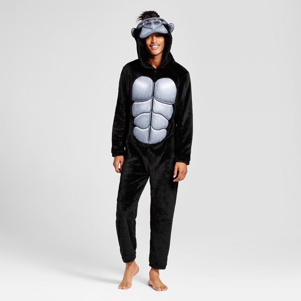 Mens Gorilla Union Suit - Black XL