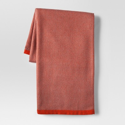 Herringbone Orange Throw Blanket - Project 62™