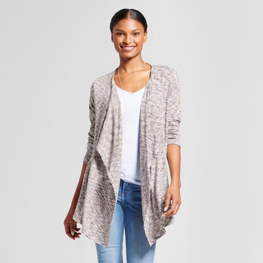 Womens Soft Ruffle Jacket - Knox Rose Gray XS, Multicolored