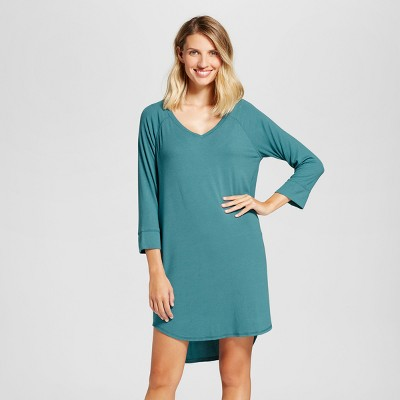 Women's Nightgowns - Gilligan & O'Malley™ Nokomis Blue XXL