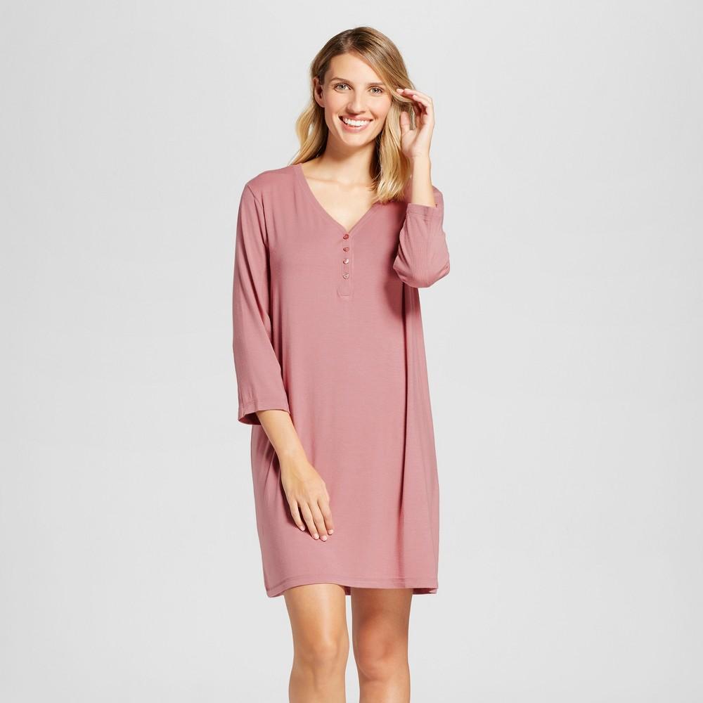 Womens Nightgowns Holiday Rose S, Pink