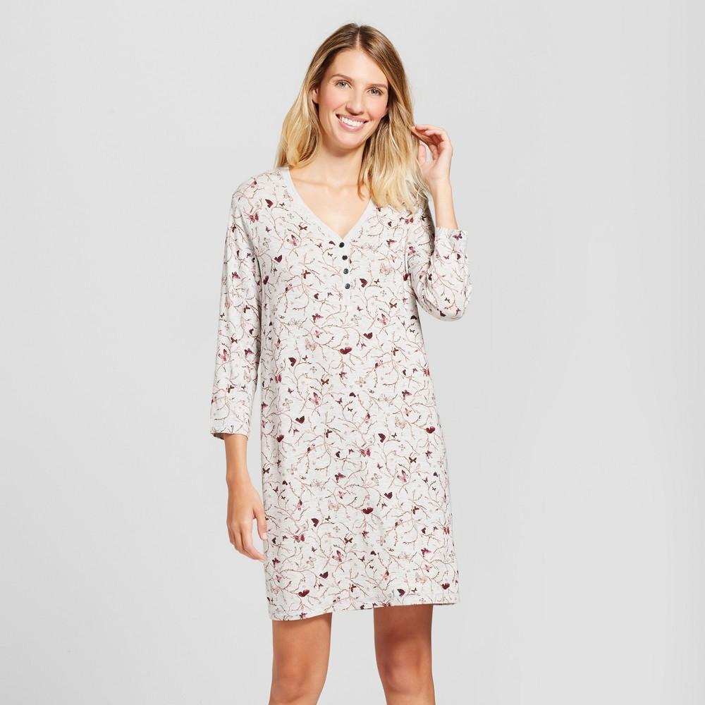 Womens Nightgowns Gray XL