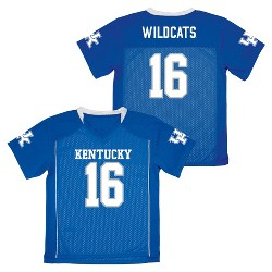 NCAA Boys' Replica Football Jersey Kentucky Wildcats