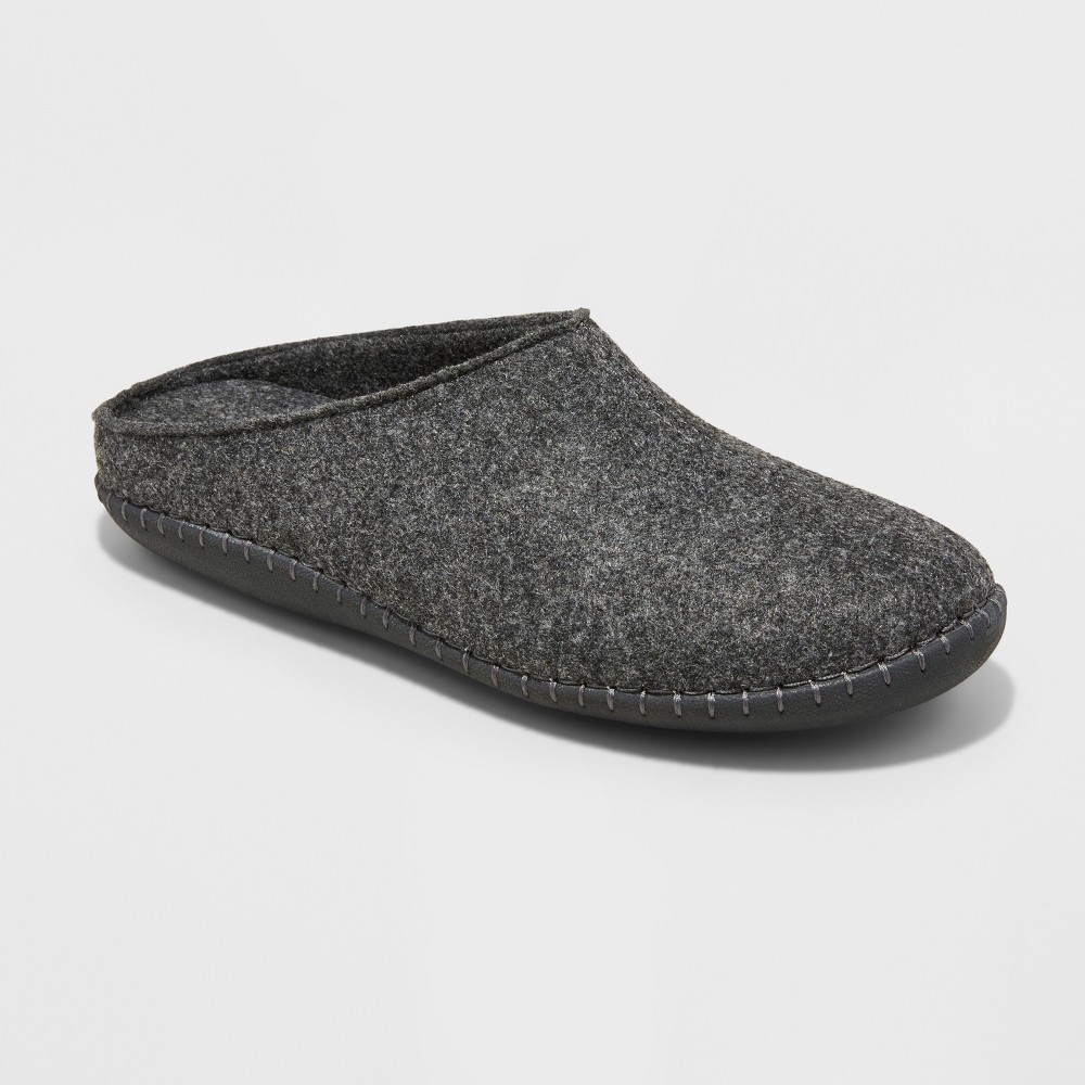 Mens Jennings Felted Wool Clog Slippers - Goodfellow & Co Gray 9