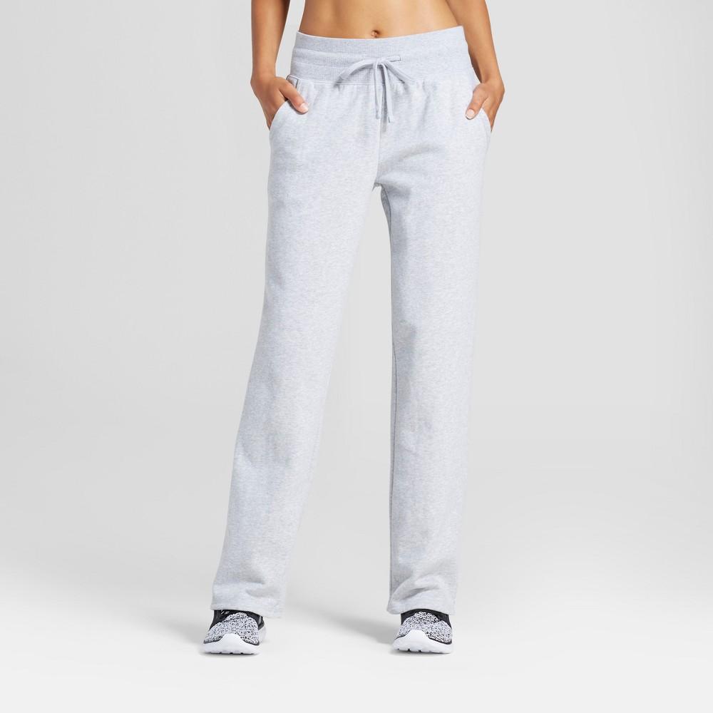 Womens Authentic Fleece Sweatpants - C9 Champion Light Heather Gray XL