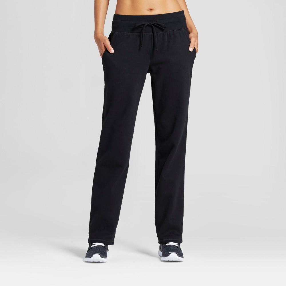 Womens Authentic Fleece Sweatpants - C9 Champion Black M