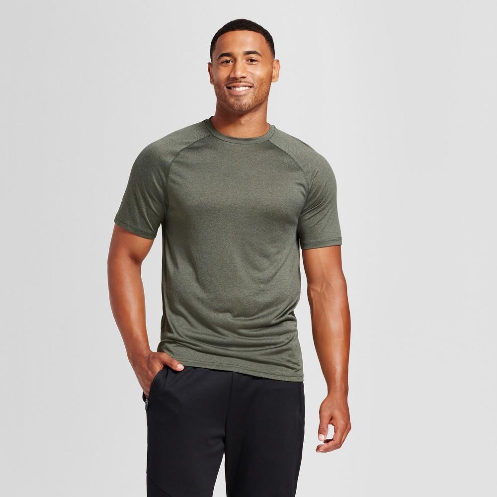 Mens Tech T-Shirt - C9 Champion Forest Grove Heather L, Green