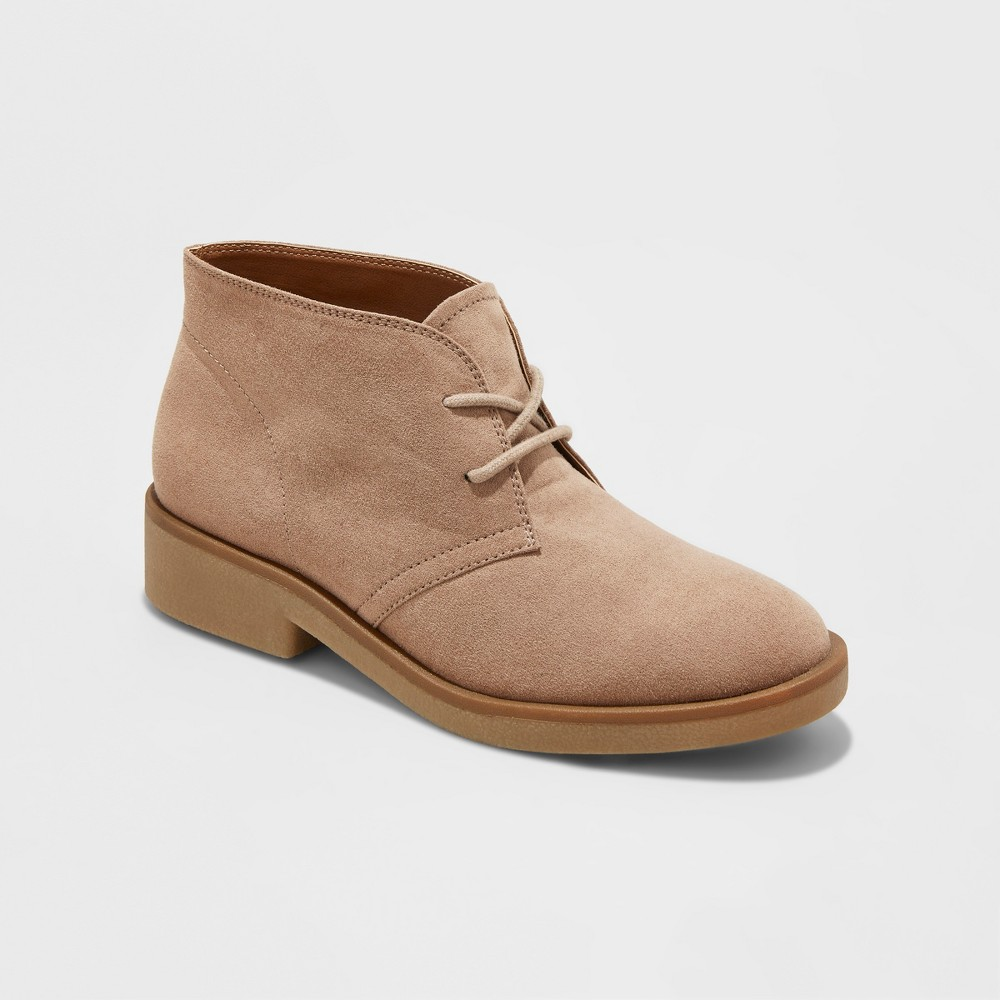 Womens Mara Chukka Boots - Merona Taupe 6, Gray