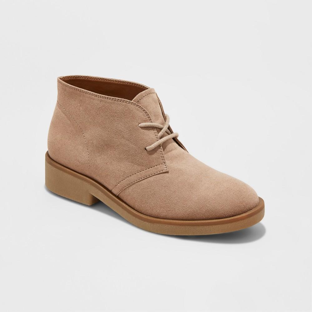 Womens Mara Chukka Boots - Merona Taupe 7.5, Gray